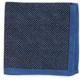HUGO BOSS Men's Boss Dot Wool Pocket Square