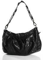 Miu Miu Black Leather Small Slouchy Baguette Satchel Handbag