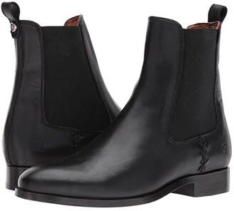 Frye Melissa Chelsea (Black) Women's Pull-on Boots