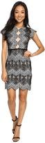 Brigitte Bailey Mica Short Sleeve Lace Dress