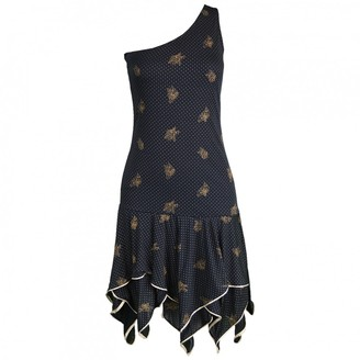 Ungaro Black Dress for Women Vintage