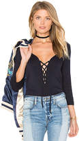 Amour Vert Bristol Top in Navy. - size S (also in XS)