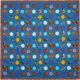 Vivienne Westwood Blue Little Fishes Handkerchief