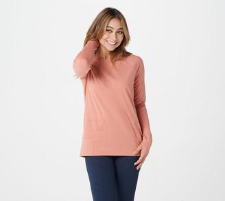 zuda Z-Ultrasoft Long Sleeve Sweatshirt with Pockets