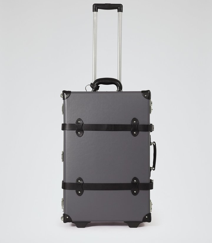 Reiss Gallivant - Wheeled Suitcase in Grey, Mens
