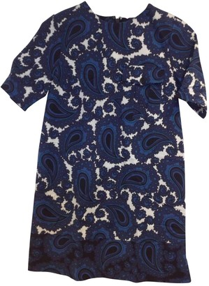 Topshop Tophop Blue Dress for Women