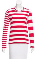 Comme des Garcons Striped Long Sleeve Top