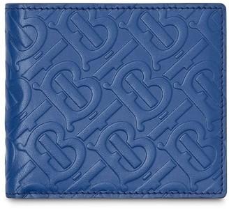 Burberry Monogram Pattern Bi-Fold Wallet