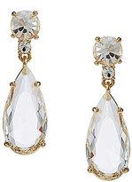 Kate Spade Crystal Cascade Teardrop Earrings