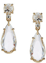 Kate Spade Crystal Cascade Teardrop Statement Earrings
