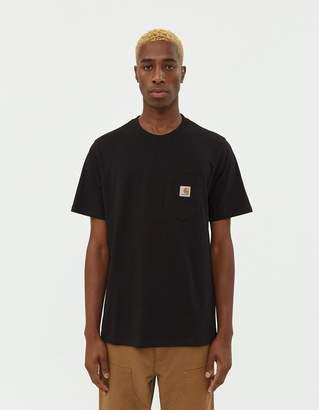 Carhartt Wip S/S Pocket T-Shirt in Black