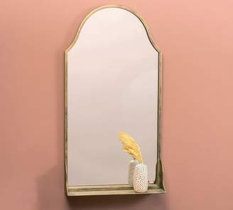 Pottery Barn Sofia Shelf Mirror