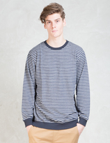 I Love Ugly Stripe Crewneck