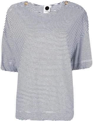 Bassike striped oversized T-shirt