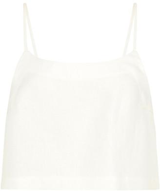 BONDI BORN Linen Camisole Top