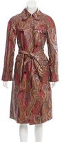 Etro Printed Long Coat