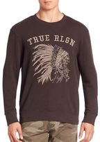 True Religion Chief Embroidered Sweatshirt