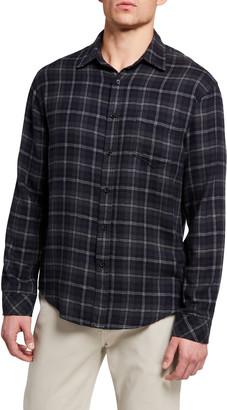 Rails Men's Lennox Plaid Woven Sport Shirt