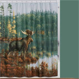 Asstd National Brand Back Bay Moose Shower Curtain