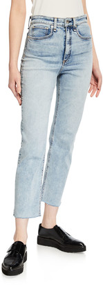 Rag & Bone Jane Super High-Rise Ankle Cigarette Jeans