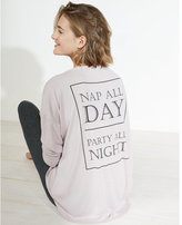 Express nap all day crew neck tee