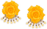 Elizabeth Cole flower earrings