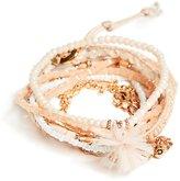GUESS Women's Kat Blush Bracelet Set