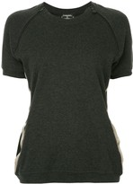 Chanel Pre Owned Chanel CC short sleeve top
