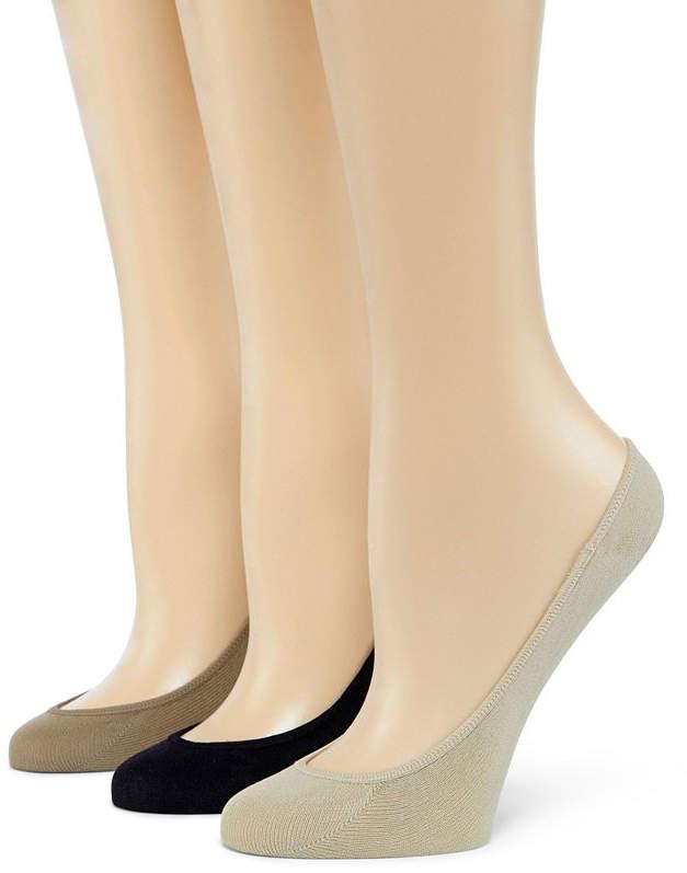 Asstd National Brand Mixit 6pk Microfiber Liner Socks