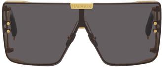 Balmain Gold Akoni Edition Wonderboy Sunglasses