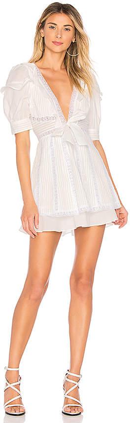For Love & Lemons x REVOLVE Pintuck Dress
