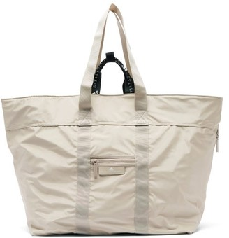 adidas by Stella McCartney Oversized Nylon Tote Bag - Womens - Grey