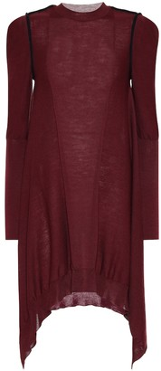Stella McCartney Asymmetrical wool dress