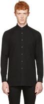 Naked & Famous Denim Black Long Shirt