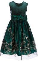Jayne Copeland Big Girls 7-12 Solid/Pattern A-Line Dress