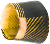 Marni striped cuff bracelet
