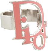 Christian Dior Enamel Ring