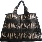 Sondra Roberts Zebra Haircalf Shopper