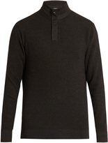 Ermenegildo Zegna Wool-blend high-neck sweater