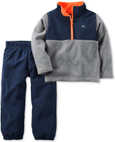Carter's 2-Pc. Colorblocked Active Pullover & Pants Set, Baby Boys (0-24 months)