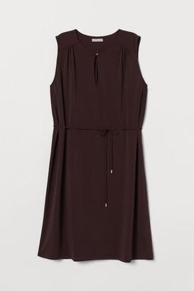 H&M Tie Belt Dress - Red