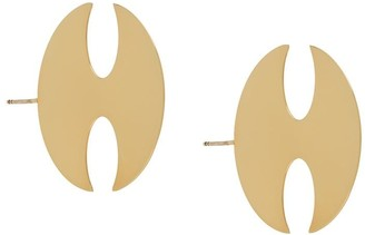Y/Project Coin earrings