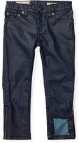 Ralph Lauren 2-6X Jemma Super Skinny Zip Jean