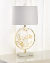 John-Richard Collection John Richard Collection Freckled Gold Leaf Table Lamp
