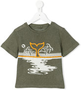 Stella McCartney whale print T-shirt - kids - Linen/Flax/Viscose - 2 yrs