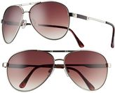 UNIONBAY Men's Textured Aviator Sunglasses