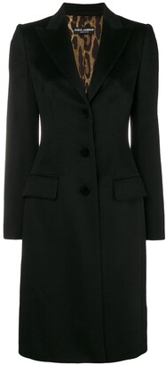 Dolce & Gabbana Single-Breasted Coat