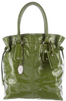 Tod's Patent Leather Drawstring Tote