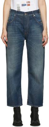 MM6 MAISON MARGIELA Blue Boyfriend Jeans