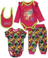 "Enyce Baby Girls' ""Artist in Residence"" 4-Piece Set"